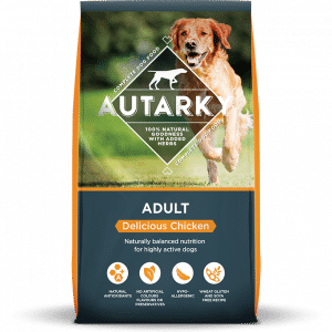 Autarky Chicken Dog Food For Highly Active Dogs complete Chicken