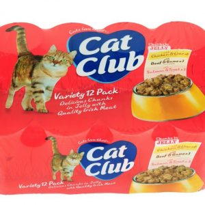 Delicious chuncks in jelly for cats