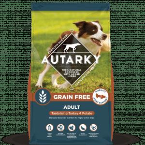 Autarky Grain Free Complete Dog Food Turkey and Potato