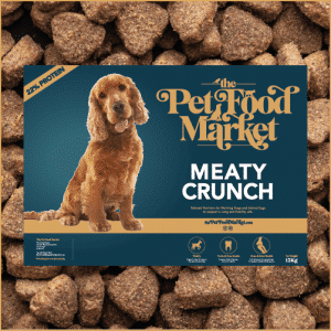 Delicious Beef Complete Dog Food for wokring dogs and highly active dogs