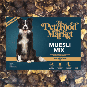 Muesli Mix Dry Dog Food for highly active dogs working dog food