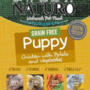 Naturo Grain Free Puppy Food Chicken and Potato