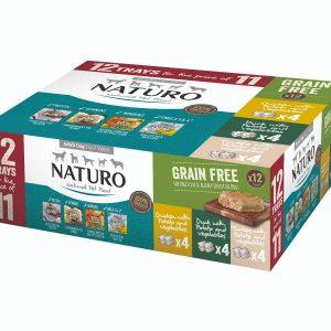 Naturo Adult Wet Dog Food Gain Free Multipack