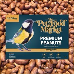 Premium Peanuts Wild Bird Food 12.55kg