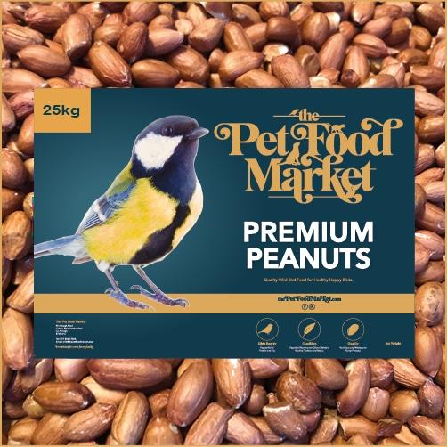 Premium Peanuts Wild Bird Food 25kg