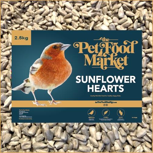 Sunflower Hearts Wild Bird Food 2.5kg
