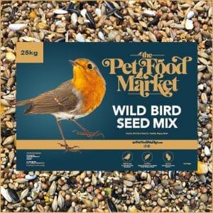 Wild Bird Seed Mix 25kg Bring Birds To your Garden