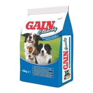 GAIN Crunchy Complete Food for Dogs of all Breeds