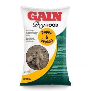 GAIN Puppy and Sapling Premium Dog Food