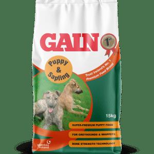 Gain Puppy and Sapling Greyhound Food